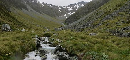 Three Tarn Pass route, Nelson Lakes National Park