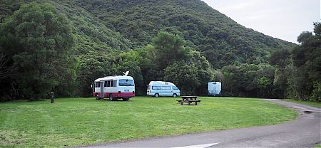 Whites Bay campsite | Marlborough