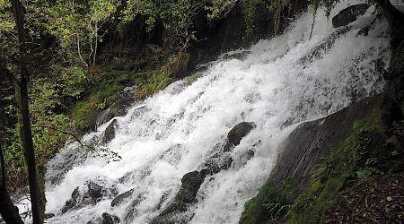 Staircase Creek, Arahura River is a waterfall. | Arahura/Styx blog, December 2019