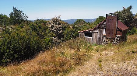 Riordans Hut exterior 1   Kahurangi National Park
