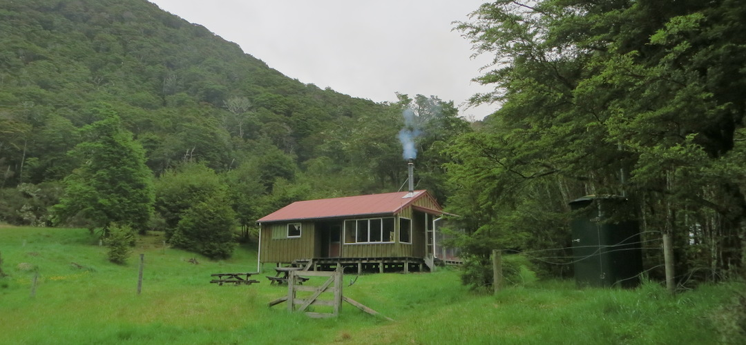 Boyle Flat Hut St James Conservation Area Tramping New