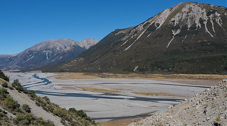 Poulter River valley from near Turnbull Bivvy. | Day 6 Arthurs Pass tramp, February 2021