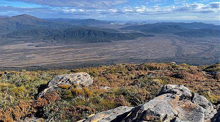 Mason Bay and Freshwater Plain from Rocky Mountain. | Northwest Circuit, Rakiura National Park