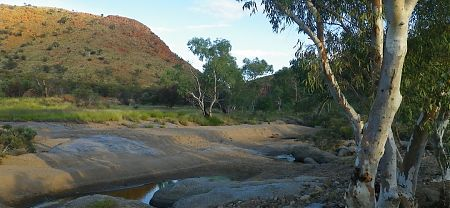 Jay Creek, Larapinta Trail, Central Australia