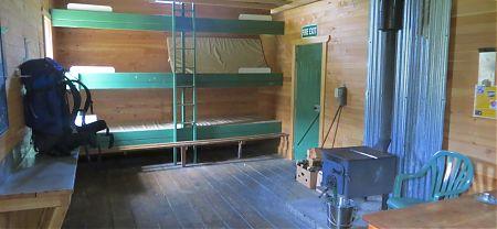 Hurunui Hut no 3, Harper Pass route, North Canterbury