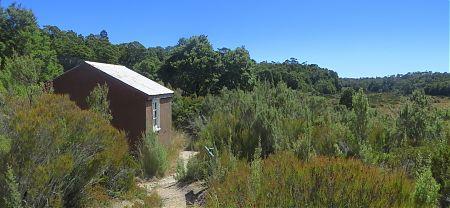 Moa Park Shelter, The Inland Track, Abel Tasman National Park