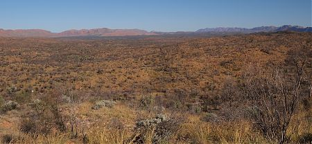 Alice Valley, Larapinta Trail, Central Australia