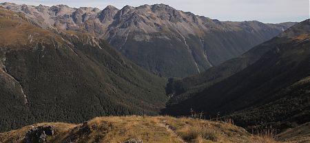 Travers Saddle, Travers-Sabine circuit, Nelson Lakes National Park