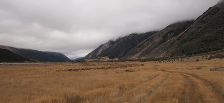 Waiau River valley