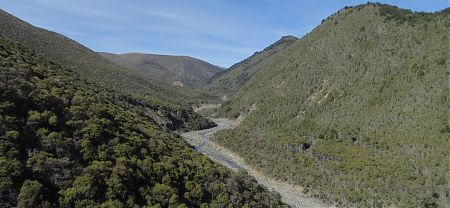 Right Branch of the Motueka River, Alpine Route, Mt Richmond Forest Park