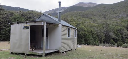 Old Man Hut, Alpine Route, Mt Richmond Forest Park
