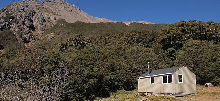 Rintoul Hut, Alpine Route, Mt Richmond Forest Park