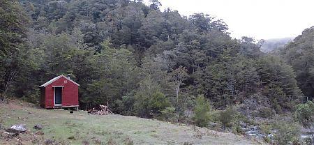 Roebuck Hut, Alpine Route, Mt Richmond Forest Park
