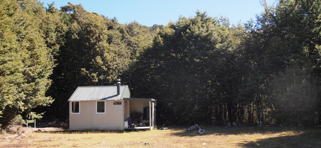 Tarn Hut, Alpine Route, Mt Richmond Forest Park