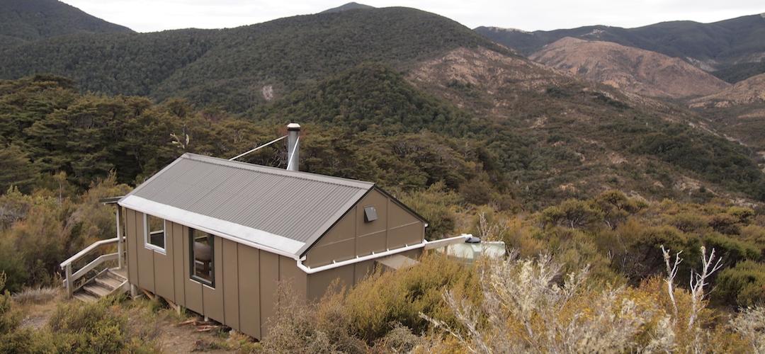 Hunters Hut, Alpine Route, Mt Richmond Forest Park