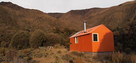 Porters Creek Hut, Alpine Route, Mt Richmond Forest Park
