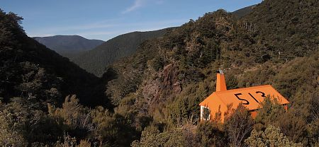 Top Wairoa Hut, Alpine Route, Mt Richmond Forest Park