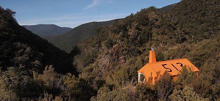 Top Wairoa Hut, Alpine Route, Mt Richmond Forest Park