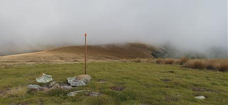 Up amongst the clouds towards Mole Saddle, Nelson Lakes National Park