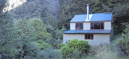 Hopeless Creek hut, Nelson Lakes National Park
